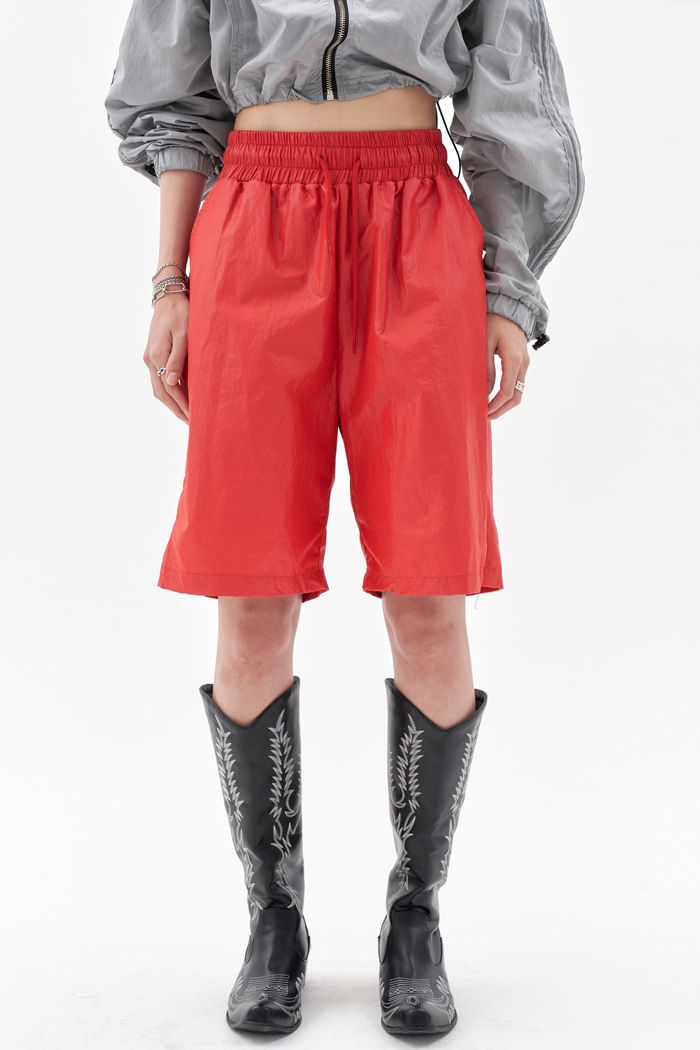 Track Shorts Red