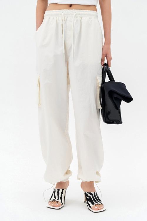 Track Pants Cream