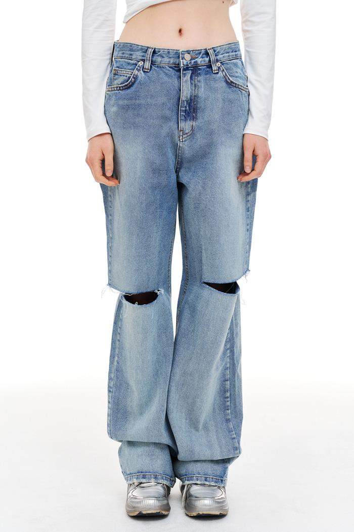 Cutting Jean Vintage Denim