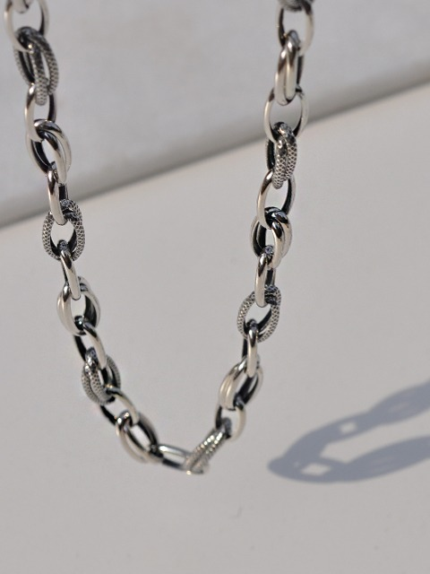 silver towa necklace