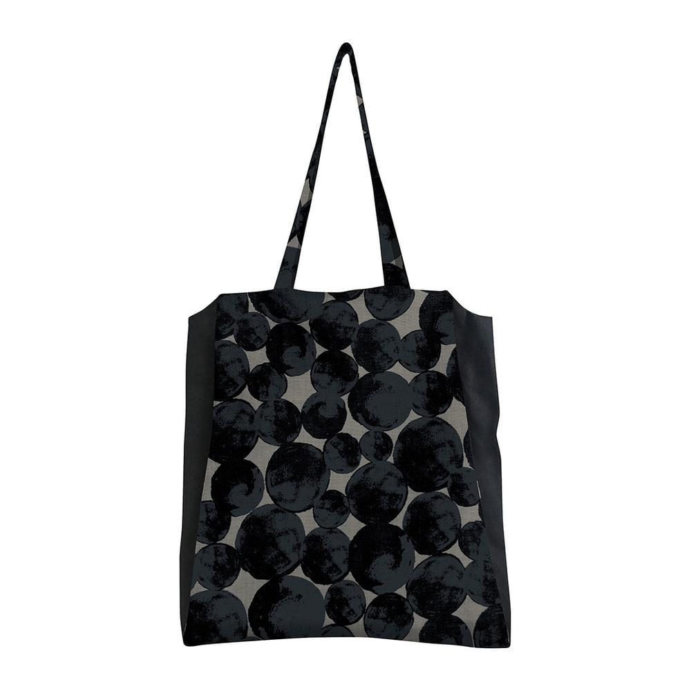 MSB107 Grand trois Bag 01 : grey/blackMAISON BLANCHE