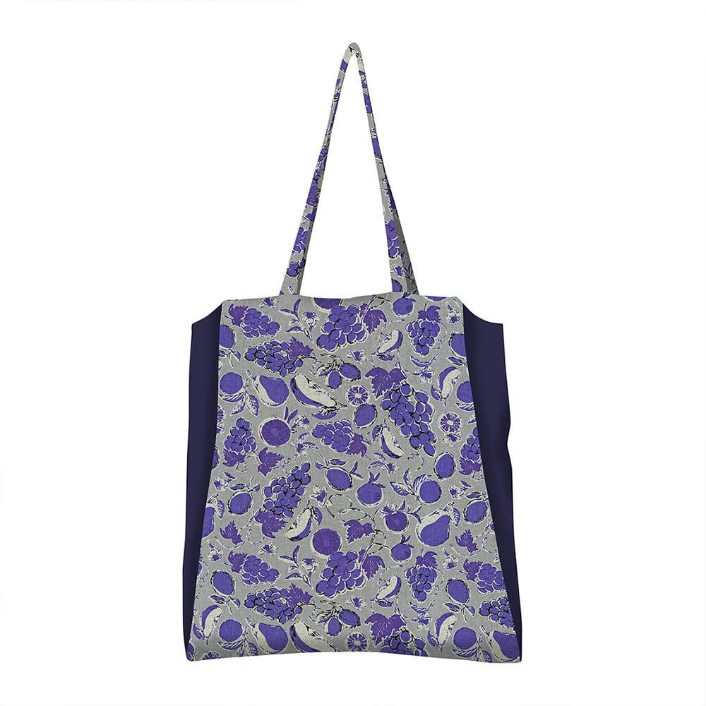 MSB160 Grand trois Bag 07 : fruit blueMAISON BLANCHE